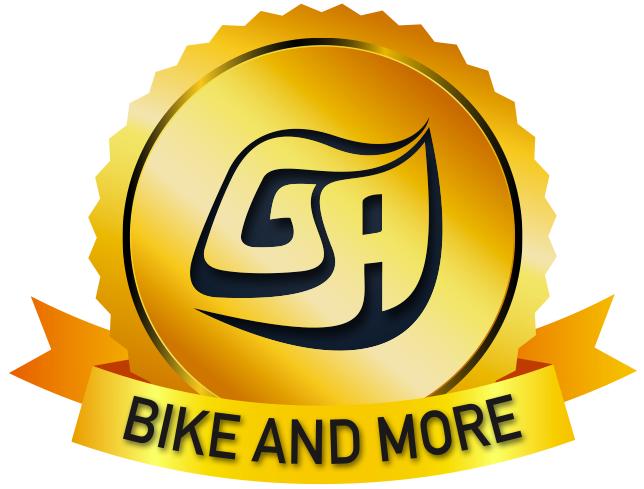 לוגו bike and more, חופשות השייט ורכיבת האופניים של GA