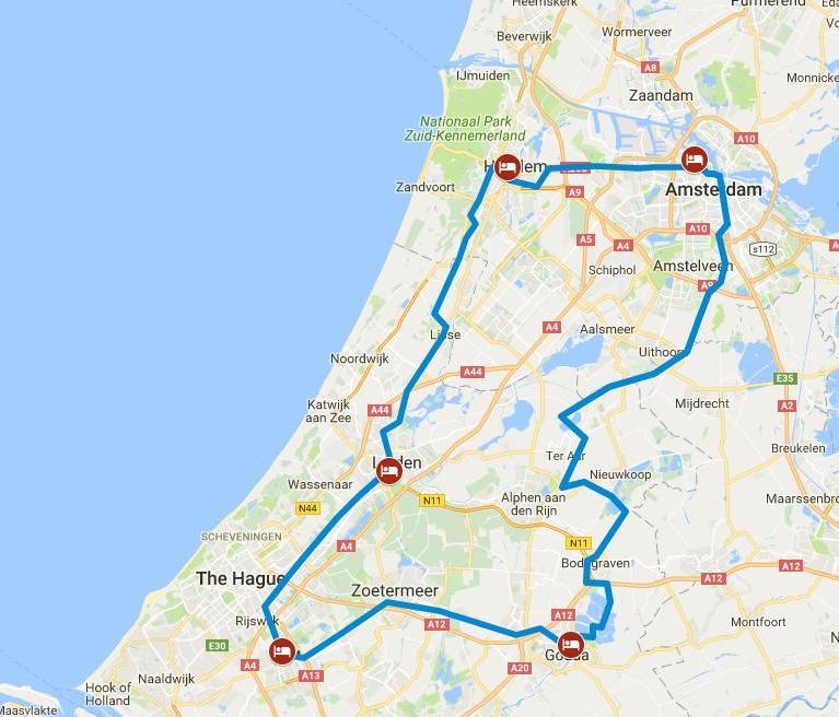 מפה הולנד הקלאסית