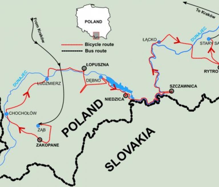 מפה פולין