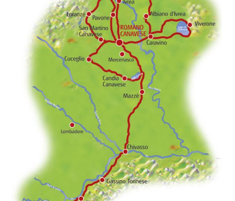 מפה פיימונטה