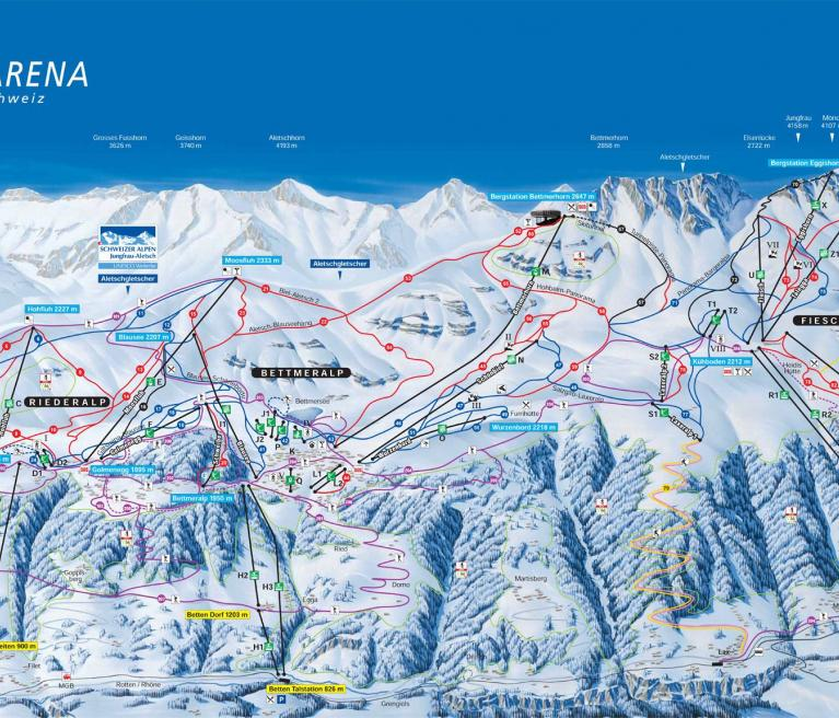 מפה ורבייר, שוויץ