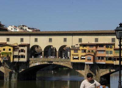 פונה וקיו, הגשר העתיק מעל הארנו שבפירנצה הטוסקנית
