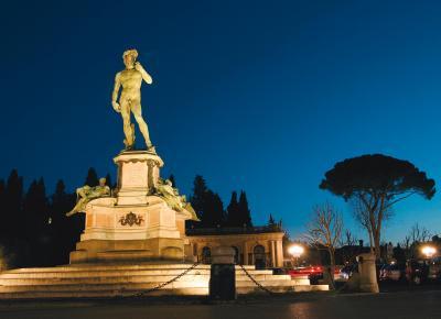 הפסל דוד של מיכאלנג'לו בפירנצה, טוסקנה