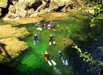 שנורקלינג בנהר בחבל זלצבורג