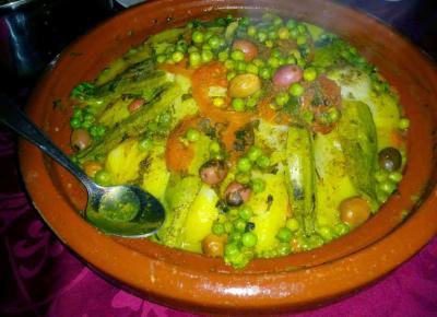 מאכלים ברברים אותנטיים בטיול האופניים בהרי האטלס במרוקו
