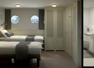 חדרי השינה בספינה 3
