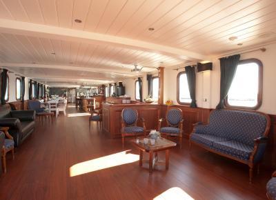 פינות הישיבה בספינה MS Magnifique