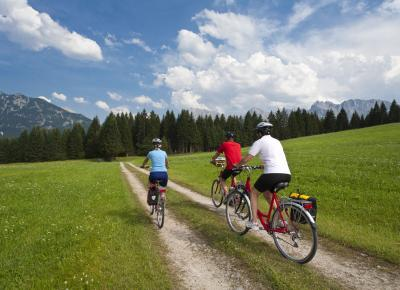 טיול אופניים באגמי מינכן