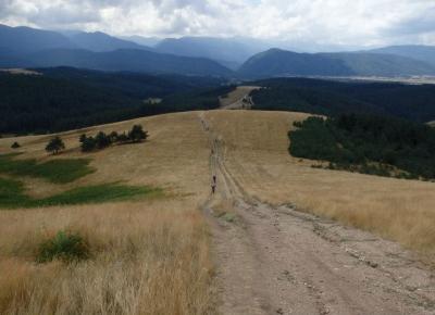 תמונת נוף של מסלול האופניים בהרי הרילה