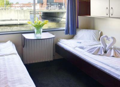 חדרי השינה של הספינה MS SERENA