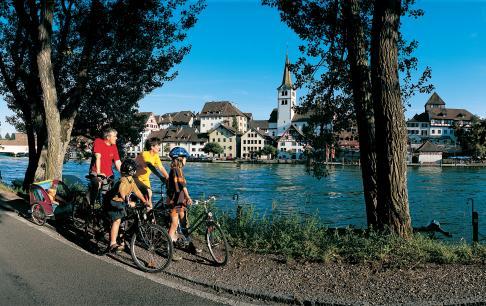 טיול אופניים לאורך נהר הריין בשוויץ, מבוקס לבזל
