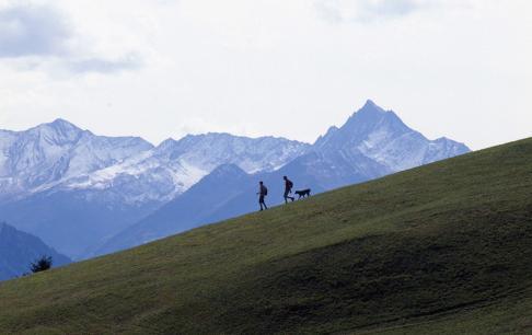 טיול בין ההרים השווייצרים