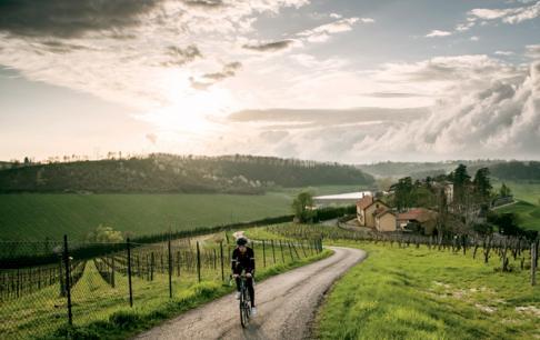 רכיבה במחוזות היין של חבל פיימונטה