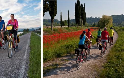 טיול אופניים לונציה, אילוסטרציה