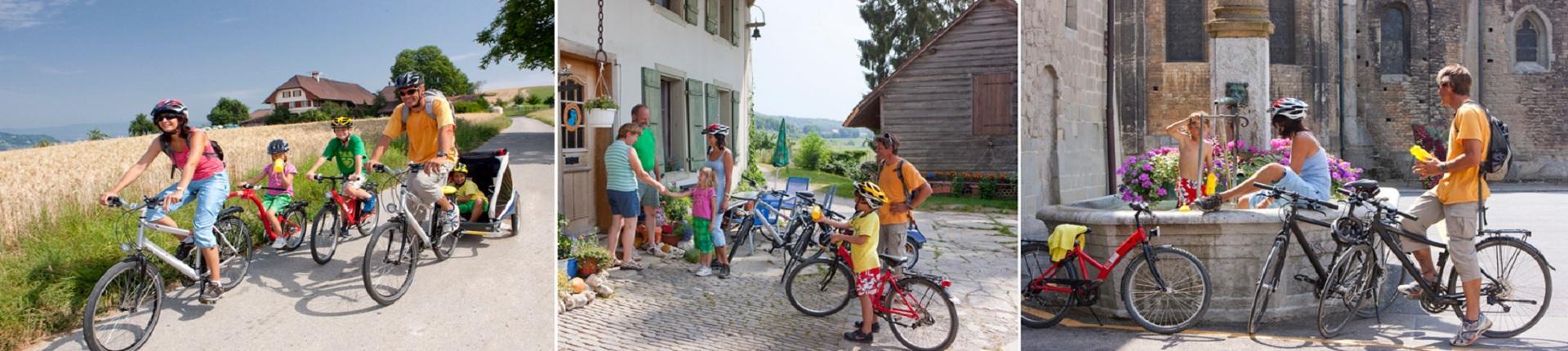 טיול אופניים במרכז שוויץ מציריך ללואן