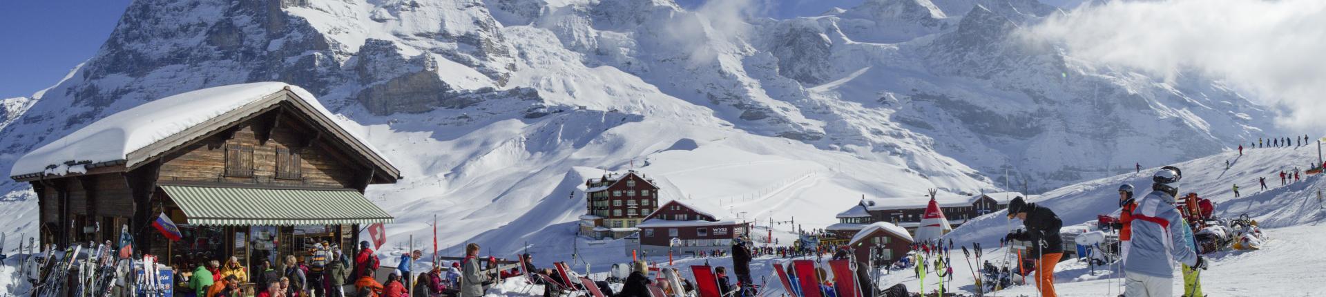 אתר הסקי בגרינדלוולד