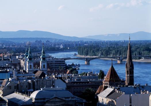 מבט פנורמי על בודפשט