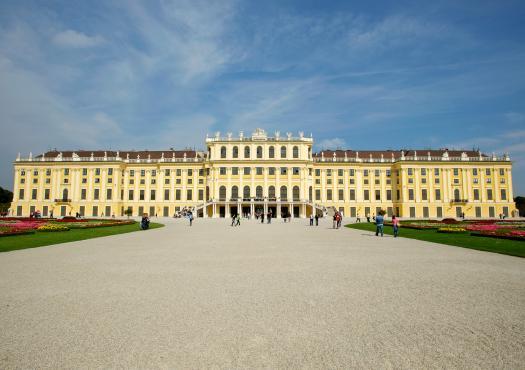 ארמון שנברון בוינה, מתוך טיול אופניים באוסטריה, סלובקיה והונגריה