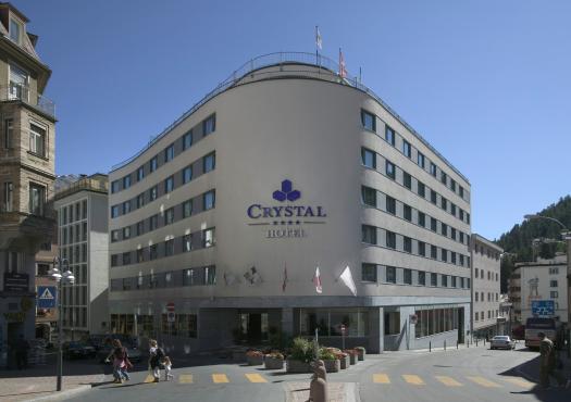 מלון הסקי קריסטל בסנט מוריץ