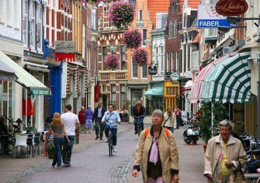מדרחוב הארלם, מתוך טיול האופניים בהולנד