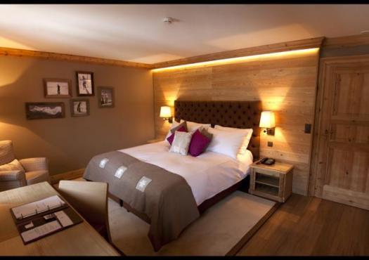 חדר אירוח במלון רויאל בקראנס מונטנה