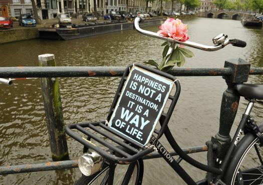 אופניים שמחות באמסטרדם