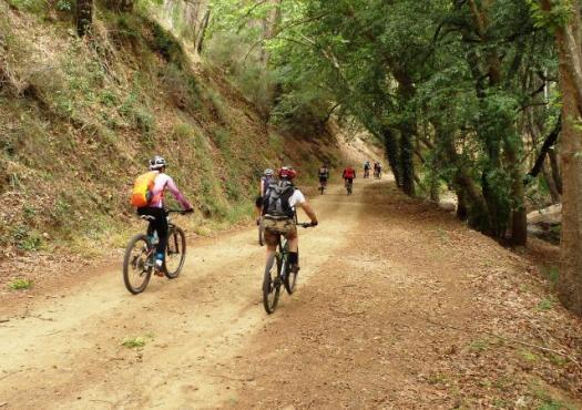 רוכבים בהרי הטרודוס, קפריסין