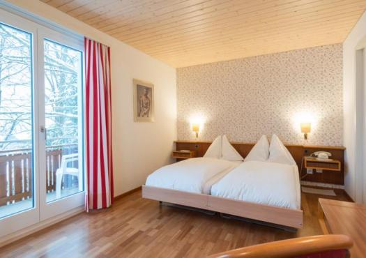 חדר עם נוף במלון ברגהאוס, סקי וונגן