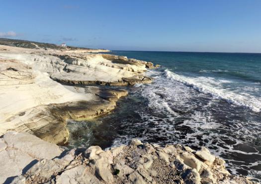 נוף פראי במזרח קפריסין