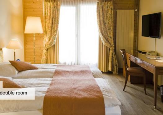 חדר זוגי במלון הסקי סילברהורן בוונגן