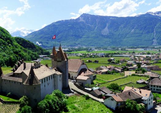 עיירות שווייצריות לצד הדרך
