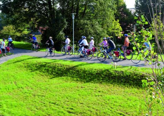 טיול אופניים בטבע, אמסטרדם