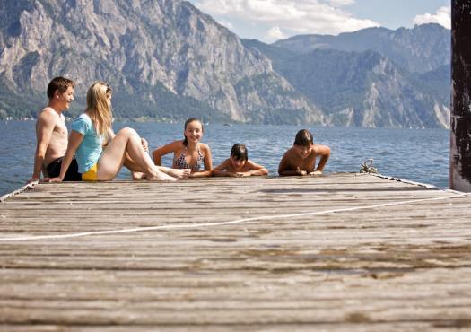 כיף על אגם traunsee