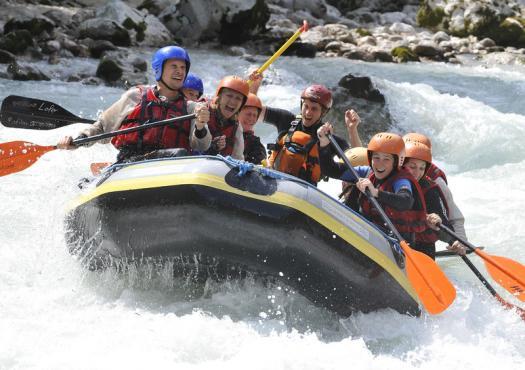 רפטינג על נהר הזלאך באוסטריה