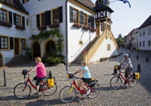 על האופניים באלזס, משטרסבורג למיינץ 1