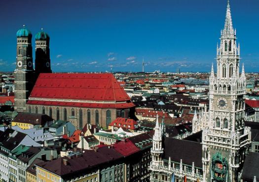 תמונה עירונית של העיר מינכן