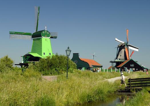 תחנות רוח בהולנד