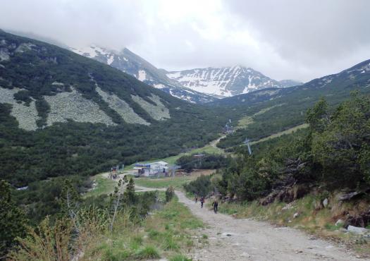 נוף הררי בהרי הרילה