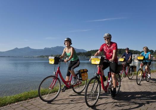רכיבת אופניים לאורך אגם קונסטנץ