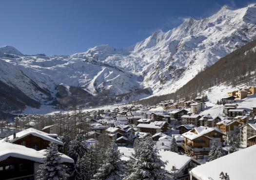 העיירה סאס פה, אתר הסקי