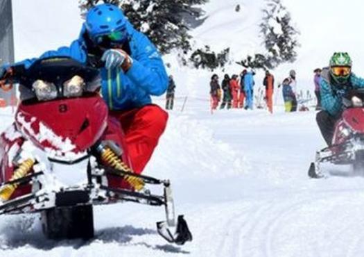 אופני שלג בשוויץ